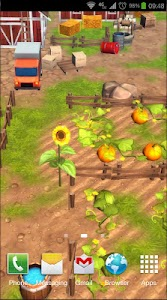 Cartoon Farm 3D Live Wallpaper screenshot 5