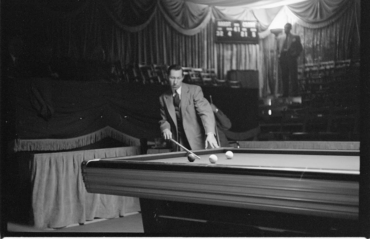 World's Champion Billiard Tourn.