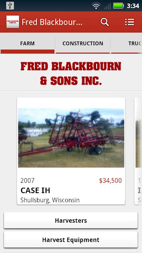 Fred Blackbourn and Sons Inc.