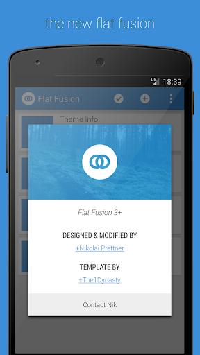 Flat Fusion
