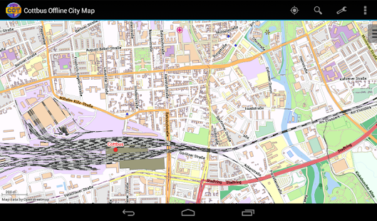 Cottbus Offline City Map Android Apps on Google Play
