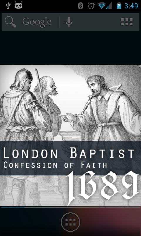 1689 London Baptist Confession- screenshot