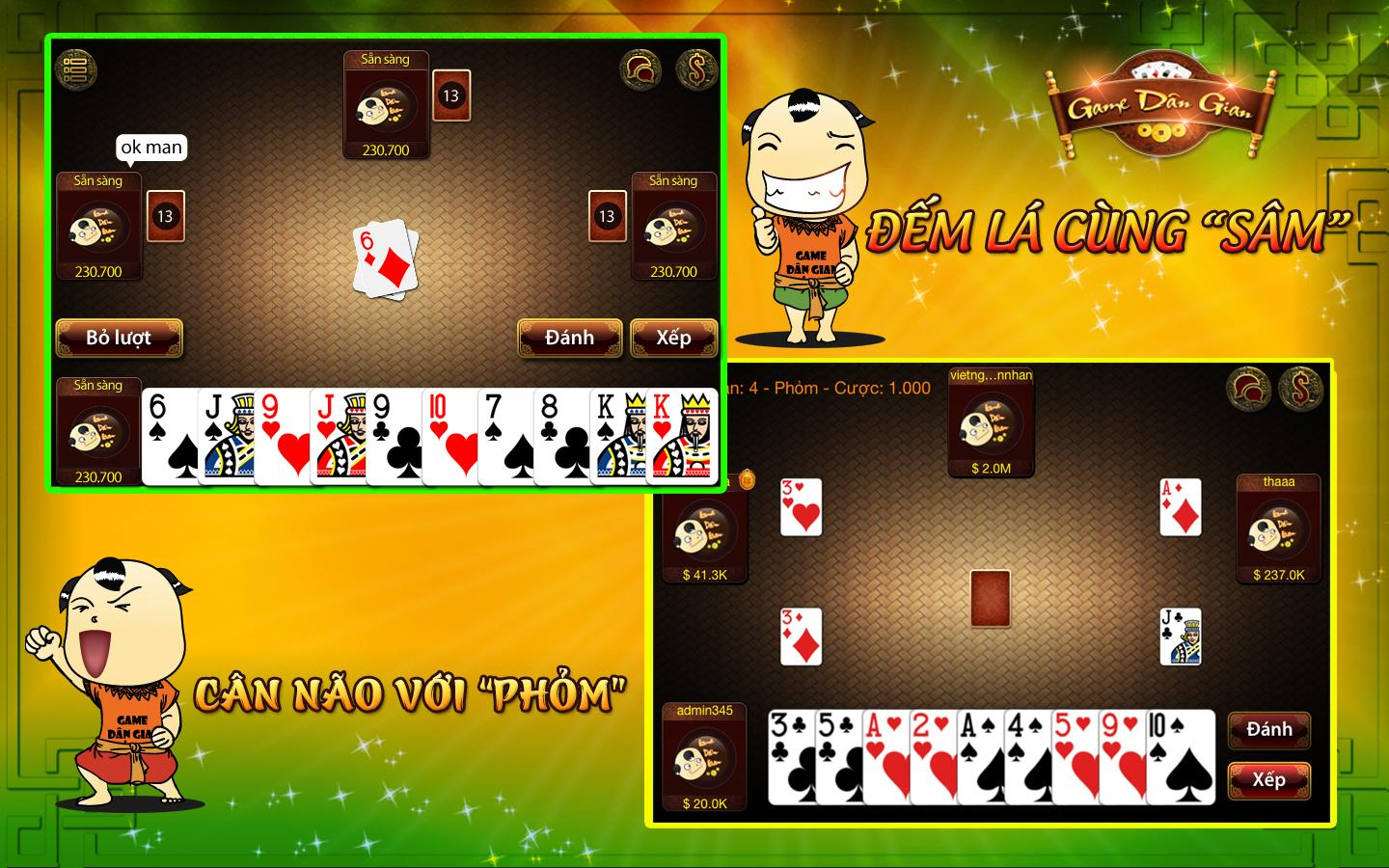 game bài - screenshot