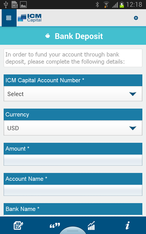 ICM Capital- screenshot