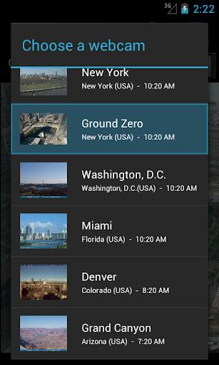 World Webcams screenshot