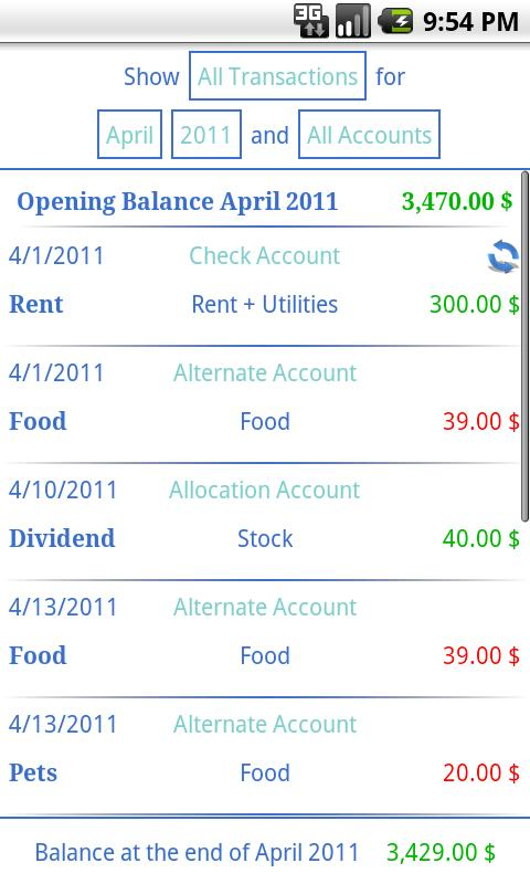 Budgeting: Finance Mastery - screenshot