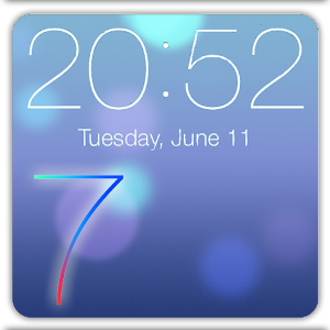 iOS 7 Lock Screen HD APK