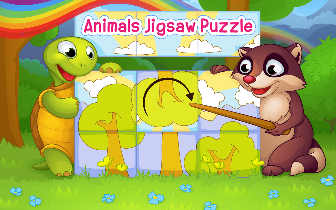 animals jigsaw puzzle for kids android apps on google play