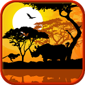 Africa sunset live wallpaper icon