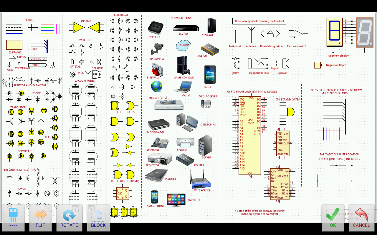 Palmdraft Lite Electronicscad Android Apps On Google Play