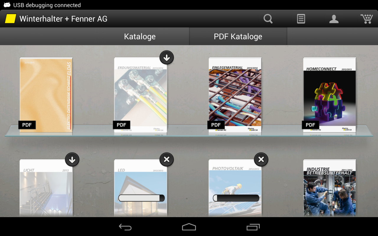 Winterhalter + Fenner AG - screenshot