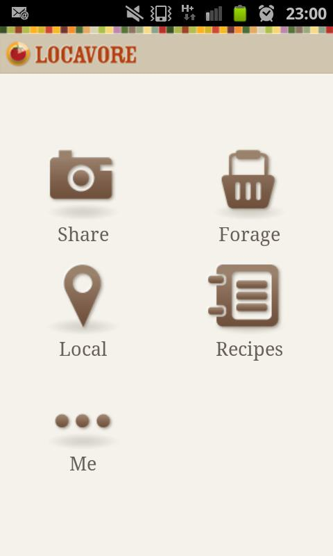 Locavore- screenshot