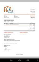 Screenshot of MobileBiz Co - Cloud Invoice