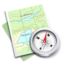 Androzic Compass Plugin icon