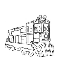 玩免費休閒APP|下載Chuggington coloring books app不用錢|硬是要APP