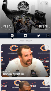 Chicago Bears Official App- screenshot thumbnail