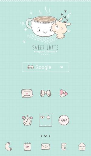 sweet latte 도돌런처 테마