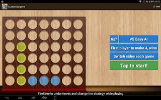 Screenshot of Four in a Row HD