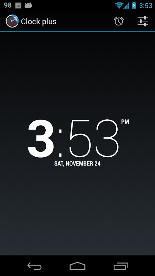 ClockPlus DayDream- screenshot