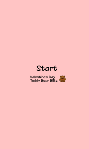 Valentines Teddy Bear Blitz