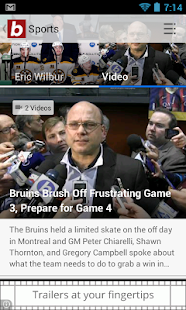 Boston.com News- screenshot thumbnail
