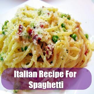 Authentic Italian Recipe For Spaghetti