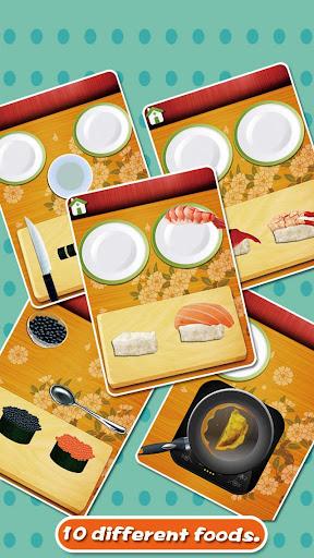 學做壽司——兒童烹飪遊戲
