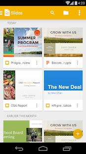 Google 簡報 生產應用 App-癮科技App