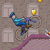 Cop bike run - race game