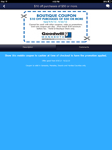 【免費生活App】Goodwill Manasota-APP點子