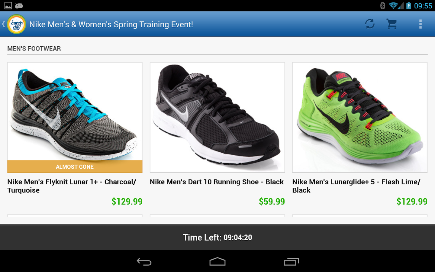 CatchOfTheDay: Online Shopping- screenshot