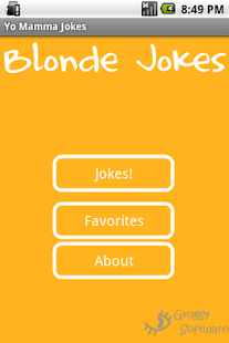 Blonde Jokes- screenshot thumbnail