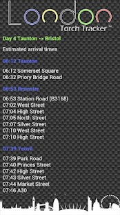 London Torch Tracker - screenshot thumbnail