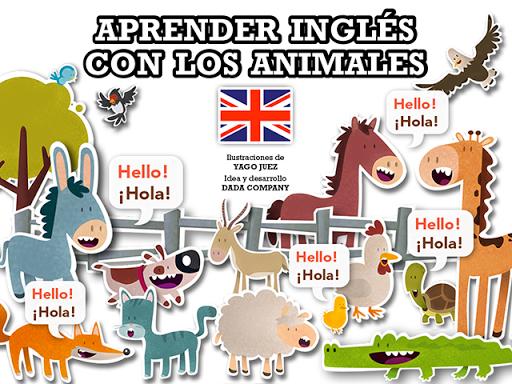 Aprender inglés con animales