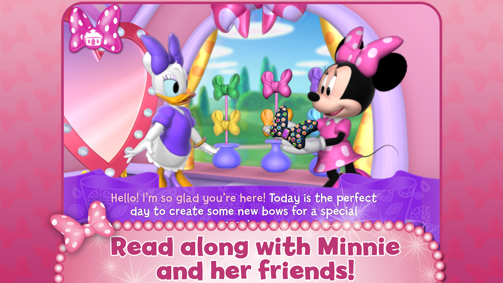 Minnie Bow Maker - screenshot