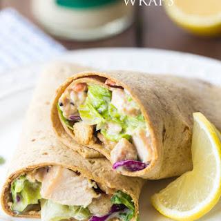 Chicken Caesar Salad Wraps