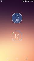 Screenshot of onca Clock Widget