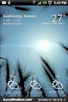 Screenshot of 9s-Weather Theme+(Nature) Free