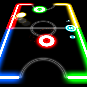 Download Android Game Glow Hockey for Samsung