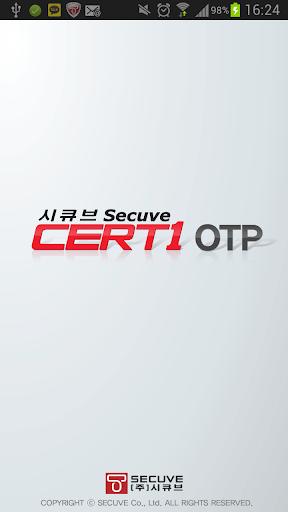 Secuve CERT1 OTP