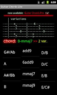 Guitar Chords Lite - screenshot thumbnail