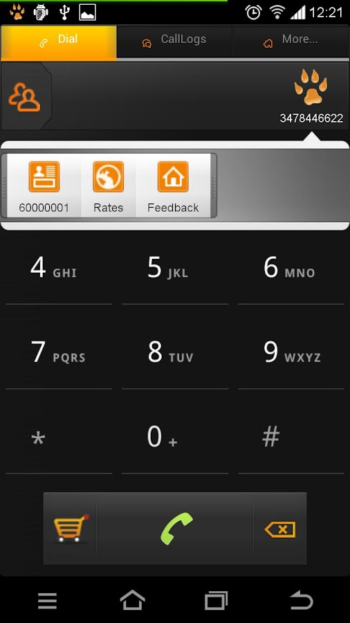 GlobalTalk- free phone calls - screenshot