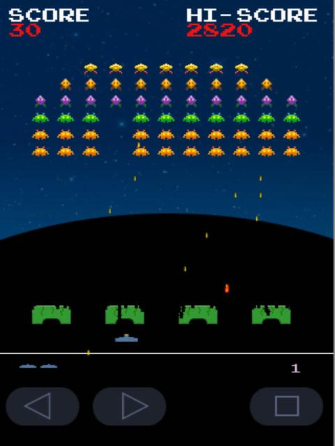 Invaders from Androidia (Free) - screenshot