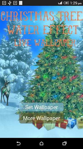 Christmas tree WaterEffect LWP
