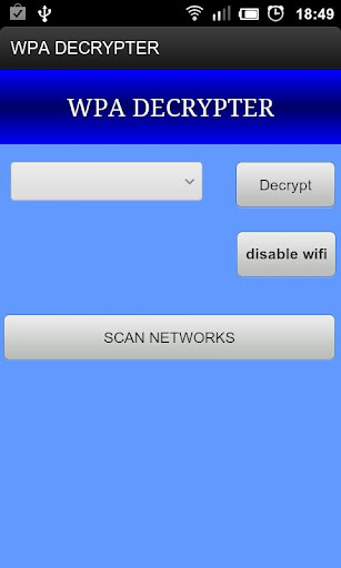 WPA Decrypter v1.0.1 Full android applications