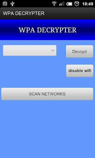 WPA Decrypter v1.0.1 Full