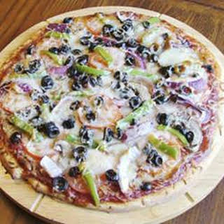Vegetarian's Delight Pizza.