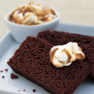 Old-Fashioned Gingerbread with Molasses Whipped Cream