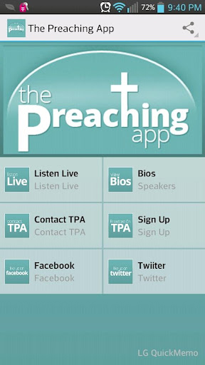 The Preaching App - Live 24 7