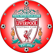 FC Liverpool Clock Widget
